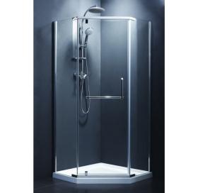 Душевая кабина Devit Comfort 100х100 FEN0223 без поддона, стекло прозрачное