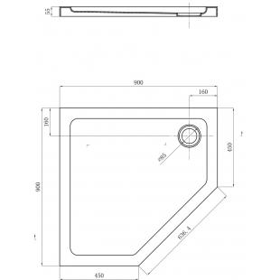 Душевой поддон Devit Comfort 90х90 FTR0123