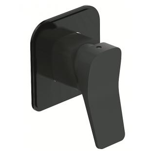 Смеситель скрытого монтажа для душа Devit UP 81017120B черный матовый
