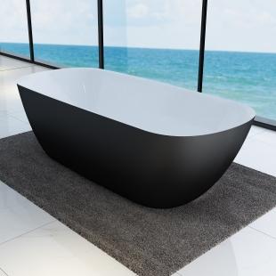 Ванна отдельностоящая Devit Laguna 180x80 черный матовый 18056110B