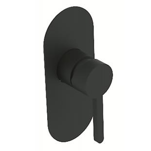 Смеситель скрытого монтажа для душа Devit Laguna 84117110B черный матовый