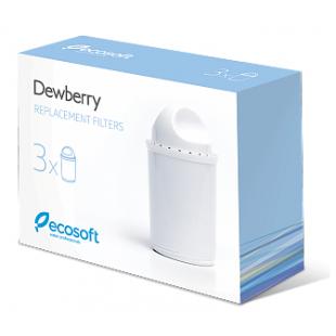 Комплект сменных картриджей для фильтра-кувшина Dewberry 3 шт., CRVK3DEWBECO