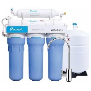 Фильтр обратного осмоса Ecosoft Absolute 5-50P с помпой на станине, MO550PSECO