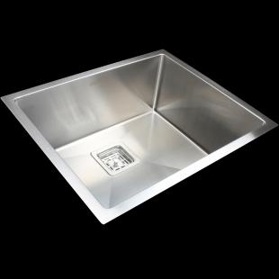 Кухонная мойка Fabiano Quadro 53 R10 S/Steel 8216.401.0073