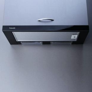 Вытяжка кухонная Fabiano Slim 60 Lux Black Glass