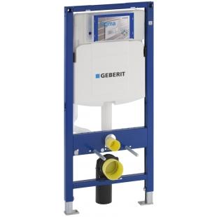 """Инсталляционная система Geberit Duofix для подвесного унитаза, H112, cо встроенным бачком """" Sig"""