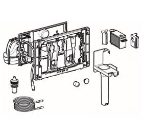 Модуль Geberit DuoFresh 115.050.BZ.1 с автоматическим срабатыванием для смывного бачка скрытого монт