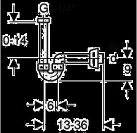 Сифон для раковины Geberit 151.105.21.1 U-образный