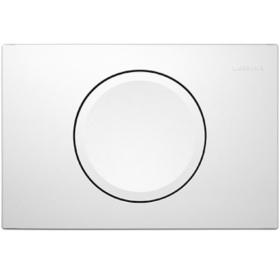 Кнопка смыва Geberit DELTA 11, пластик, белый 115.120.11.1