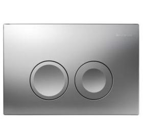 Кнопка смыва Geberit DELTA 21, пластик, хром матовый (115.125.46.1)