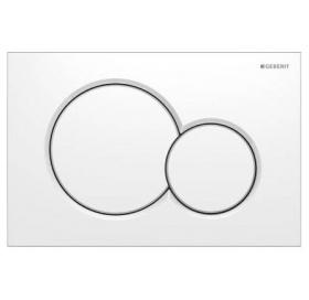 Кнопка смыва Geberit SIGMA 01, пластик, белая