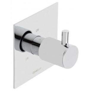 Встраеваемый переключатель на 3 зоны Genebre Tau-switch3, 65114 30 45 66