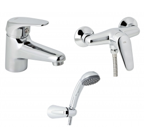 Набор смесителей для душа без штанги GENEBRE Ge2, 03GE2-shower