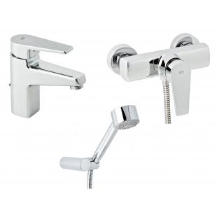 Набор смесителей для душа без штанги GENEBRE Klip, 03KL-shower