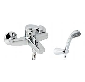 Смеситель  для ванны GENEBRE Ge2 с душевым гарнитуром, 60100 22 45 66