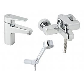 Набор смесителей для ванны без штанги GENEBRE Klip, 03KL-bath