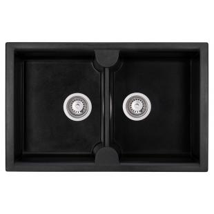 Кухонная мойка GRANADO Cordoba Black Shine 1201