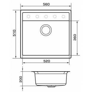 Кухонная мойка GRANADO Lerida Ivory 0404