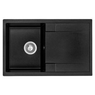 Кухонная мойка GRANADO Vigo Black Shine 1401