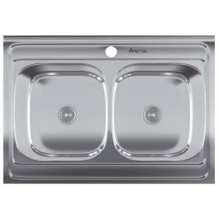 Кухонная мойка Imperial 5080 Decor прямоугольная, IMP5080DECD