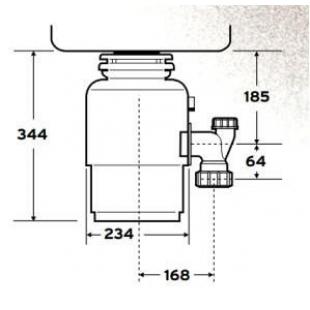 Измельчитель пищевых отходов IN-SINK-ERATOR Evolution 250