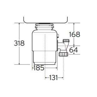 Измельчитель пищевых отходов IN-SINK-ERATOR Model 66