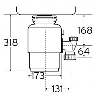 Измельчитель пищевых отходов IN-SINK-ERATOR Model S60