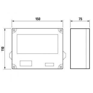 Трансформатор для писсуара Jika DOMINO/GOLEM, на 5-9 писсуаров, H8950720000001