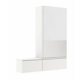 Зеркальный шкафчик Kolo Nova Pro 80 см, правый белый глянец, 88433000