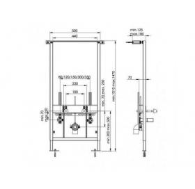 Инсталляционная система для биде KOLLER POOL ALCOR,  Bidet Alcora ST900