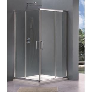 Душевая кабина Koller Pool квадратная 90*90*190 см, стекло прозрачное, G90SC