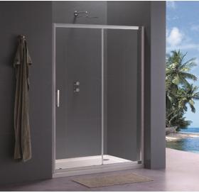 Душевая дверь Koller Pool 120x190 см двухсекционная, стекло прозрачное, TD120C
