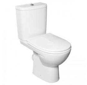 KOLO FREJA Premium унитаз, косой выпуск, сливной бачок 3/6 л, нижний подвод, сиденье с крышкой Durop