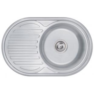 Кухонная мойка Lidz 7750 Decor 0,6 мм (LIDZ775006DEC)