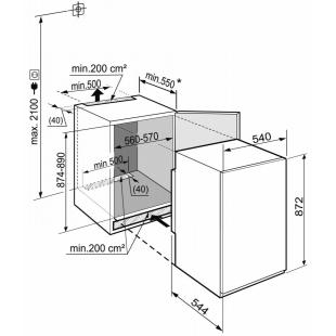 Встраиваемая морозильная камера Liebherr IGS 1624