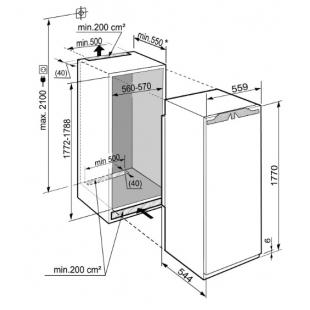 Встраиваемая морозильная камера Liebherr SIGN 3524