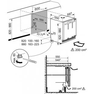 Встраиваемая морозильная камера Liebherr SUIG 1514
