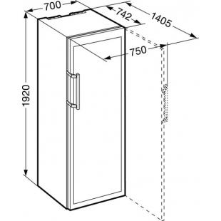 Винный шкаф Liebherr WTes 5872