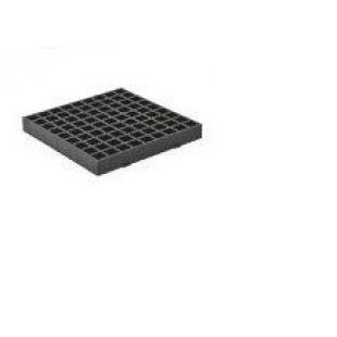 Решетка  MCH 334  для сбора воды с поверхности для дождеприемника, черная
