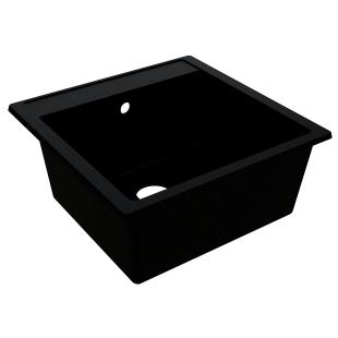 Кухонная мойка Miraggio Bodrum 510 Черная
