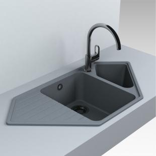 Кухонная мойка Miraggio Tirrion 960 Серая