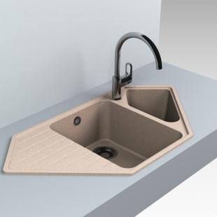 Кухонная мойка Miraggio Tirrion 960 Песочный