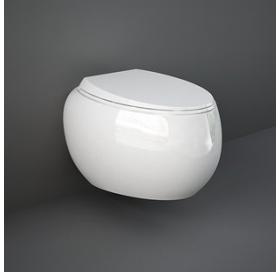 Унитаз подвесной RAK Ceramics Cloud CLOWC1446AWHA безободковый
