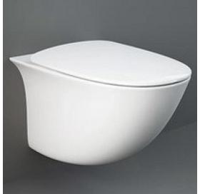 Унитаз подвесной RAK Ceramics Sensation SENWC1446AWHA безободковый