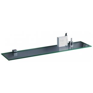 Полка стеклянная сверхпрозрачная Sanwerk 800*120*6мм ZC0000146
