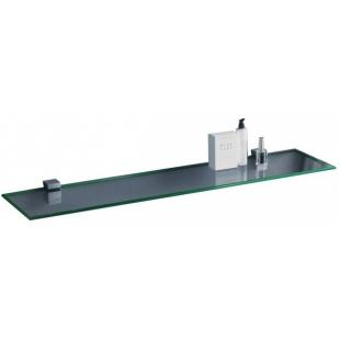 Полка стеклянная сверхпрозрачная Sanwerk 900*120*6мм ZC0000147