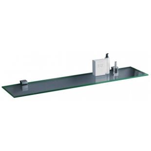 Полка стеклянная сверхпрозрачная Sanwerk 1000*120*6мм ZC0000148