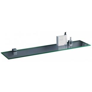 Полка стеклянная сверхпрозрачная Sanwerk 700*120*6мм ZC0000157