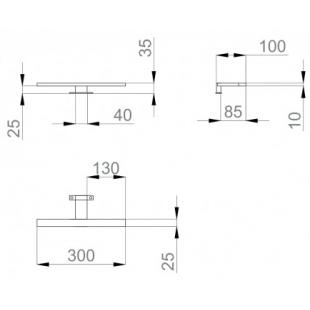 "Светильник Sanwerk LED ""SMART"" 30 см LV0000100"