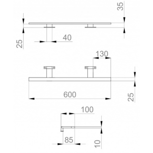 "Светильник Sanwerk LED ""SMART"" PL 60 см LV0000108"